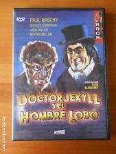 DVD DOCTOR JEKYLL Y EL HOMBRE LOBO - LEON KLIMOVSKY - PAUL NASCHY (K7)