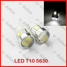 T10 PARKING SAMSUNG PROJECTOR 6 LED Light 5630 Bulbs Bright - WHITE- 2PC