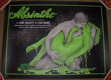 TIMOTHY PITTIDES poster ABSINTHE print Vices bottleneck gallery