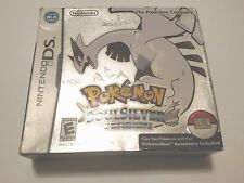 Pokemon: SoulSilver Version (Nintendo DS, 2010) Not For Resale Version
