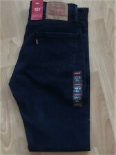 Levi's Men's New 511 32X32 Blue Jeans StretchSlim Fit Slim Hip-Ankle LoRise 2088