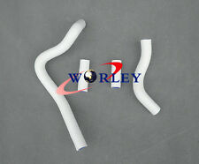 For KAWASAKI KX250 KX 250 2004-2007 05 06 07 silicone radiator hose white
