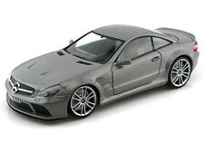 Motor Max 1/18 Mercedes Benz SL65 AMG Black Series Grey Diecast Car Model 79161