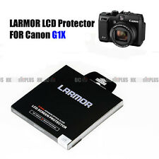 LARMOR For Canon Powershot G1X Optical Glass LCD Protector Self Adhesive NEW
