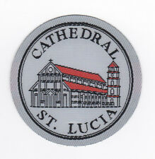 SCOUTS OF WEST INDIES - ST. LUCIA CATHEDRAL SCOUT Patch