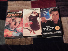 Speed 2: Cruise Control + Sister Act + Phenomenon (VHS x 3) *NEW* - F.SHIP.