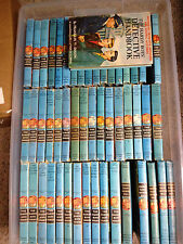 59 books: MOST Original TEXT HARDY BOYS COMPLETE SET 1-58 + Detective Handbook