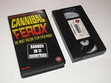 VHS Video ~ Cannibal Ferox ~ Umberto Lenzi ~ Vipco