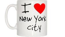 I Love Corazón Ciudad de Nueva York Mug