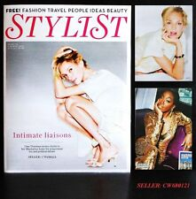 UMA THURMAN FROM KILL BILL PULP FICTION BEL AMI ESTELLE STYLIST MAGAZINE MAR 12