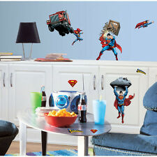 Superman Day Of Doom Peel & Stick Wall Mural Decals Stickers