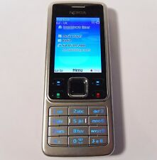 Nokia 6300 - Silver (Unlocked) Mobile Phone - Fully Working & Tested