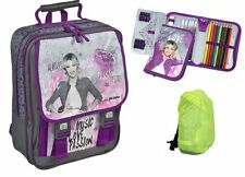 Disney violetta cartable set 3-tl ressort classeur, sac à dos cartable viae 8300