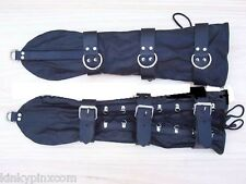 Bondage, Fetish, Faux Leather Opera Glove Restraints Fancy Dress *FREE P&P* 154