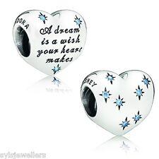GENUINE PANDORA DISNEY CINDERELLA HEART CHARM 791593CFL