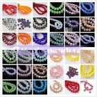 50pcs 10x7mm Wholesale Rondelle Faceted Crystal Glass Charms Loose Spacer Beads