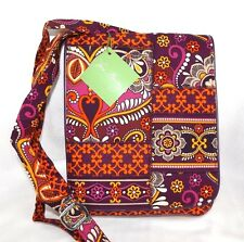VERA BRADLEY FLAP CROSSBODY PURSE PATCHWORK SAFARI SUNSET - BRAND NEW WITH TAGS!