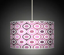 30cm Plum Purple Geometric Handmade lampshade Ceiling pendant light Shade 559