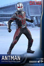 Hot Toys MMS Captain America Civil War Ant-Man 1/6 Scale Sideshow USA Seller