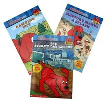 Clifford The Big Red Dog Big Red Reader 3 Books Young Children Kids NEW
