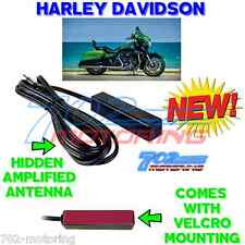 HIDDEN ANTENNA AM FM RADIO UNIVERSAL KIT FOR HARLEY DAVIDSON STREET GLIDE + MORE
