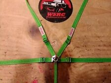 1/10 scale racing seat belt,Crawler,Drift,RC,Lime green seatbelt, harness,Wraith