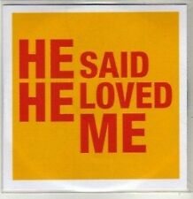 (CU129) Reverend & The Makers, He Said He Loved Me - 2007 DJ CD