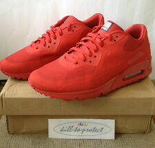 (Usado) Nike Air Max 90 Hyperfuse Usa Rojo Us8 Uk7 independencia 613841-660 2013