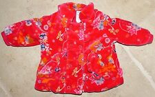 New Cakewalk Baby Girl's 6 Months European Designer Boutique Warm Jacket Coat