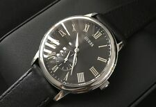 Mens Guess Designer Watch W80046G1 Wafer Steel Sub Dial Serviced