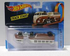Hot Wheels HW City Track Stars  VW VOLKSWAGEN HAULER Factory error upside down