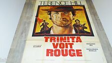terence hill TRINITA VOIT ROUGE !  affiche cinema western 1972