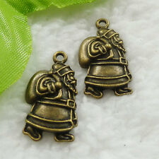 Free Ship 90 pcs bronze plated geezer charms 25x13mm #616