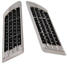 2X Car Decorative Air Scoop Flow Intake Hood Vent Bonnet Universal DIY Nice Look