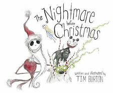 The Nightmare Before Christmas by Tim Burton Hardcover Book (English)