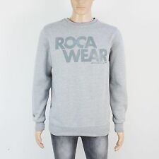 Roca Wear Mens Size L Grey Pullover Sweatshirt
