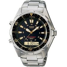 Casio Men's AMW320RD-1A9V Stainless Steel Watch