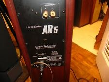 Acoustic Research   AR-5 powered sunfire CARVER technologie excellent sounding
