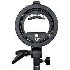 PRO Godox S-type S-EC Speedlite Bracket Holder for Elinchrom Mount Speedlite NEW