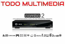 Receiver Qviart COMBO 2, Satellite+TDT2 HD. PVR WiFi USB IPTV TimeShift DVB-T2