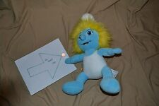 "16"" Smurfette Smurf Plush Doll Stuffed Animal Toys Build a Bear Version Huge Big"