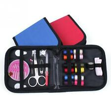 New Travel Sewing Kit For Clothes Threader Needle Tape Scissor Thimble Set
