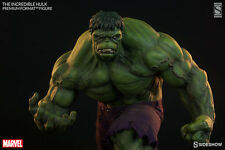 SIDESHOW EXCLUSIVE INCREDIBLE HULK PREMIUM FORMAT FIGURE STATUE Red Grey Bust
