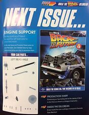 Build the Back to the Future Delorean Issue #12 scale 1:8 diecast model 52.7 cm