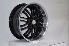 4 GWG Wheels 20 inch Black AMAYA Rims fit ET20 FORD ESCAPE 2WD 6CYL. 2001 - 2012