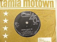 R DEAN TAYLOR INDIANA WANTS ME / LOVE'S YOUR NAME motown 763