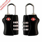 2 X TSA Security 3 Combination Travel Suitcase Luggage Bag Code Lock Padlock