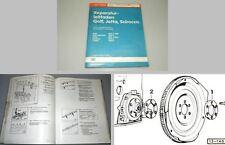 Reparatur Werkstatthandbuch VW Golf 1 Scirocco Einspritzmotor DX EG JH JJ KT 2H