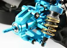 RC Car TT-01 Blue Aluminum Main Drive Shaft Wheel Joints For Tamiya TT01 TT01E