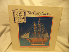 """The Cutty Sark Wooden Tall Clipper Ship Model Sailboat 15 1/2"""""""